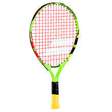 "Buy Babolat Ballfighter 17"" Junior 3 - 5 Years Old Aluminium Tennis Racket, Green/Black Online at johnlewis.com"