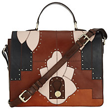 Buy Somerset by Alice Temperley Berkley Leather Satchel, Multi Online at johnlewis.com