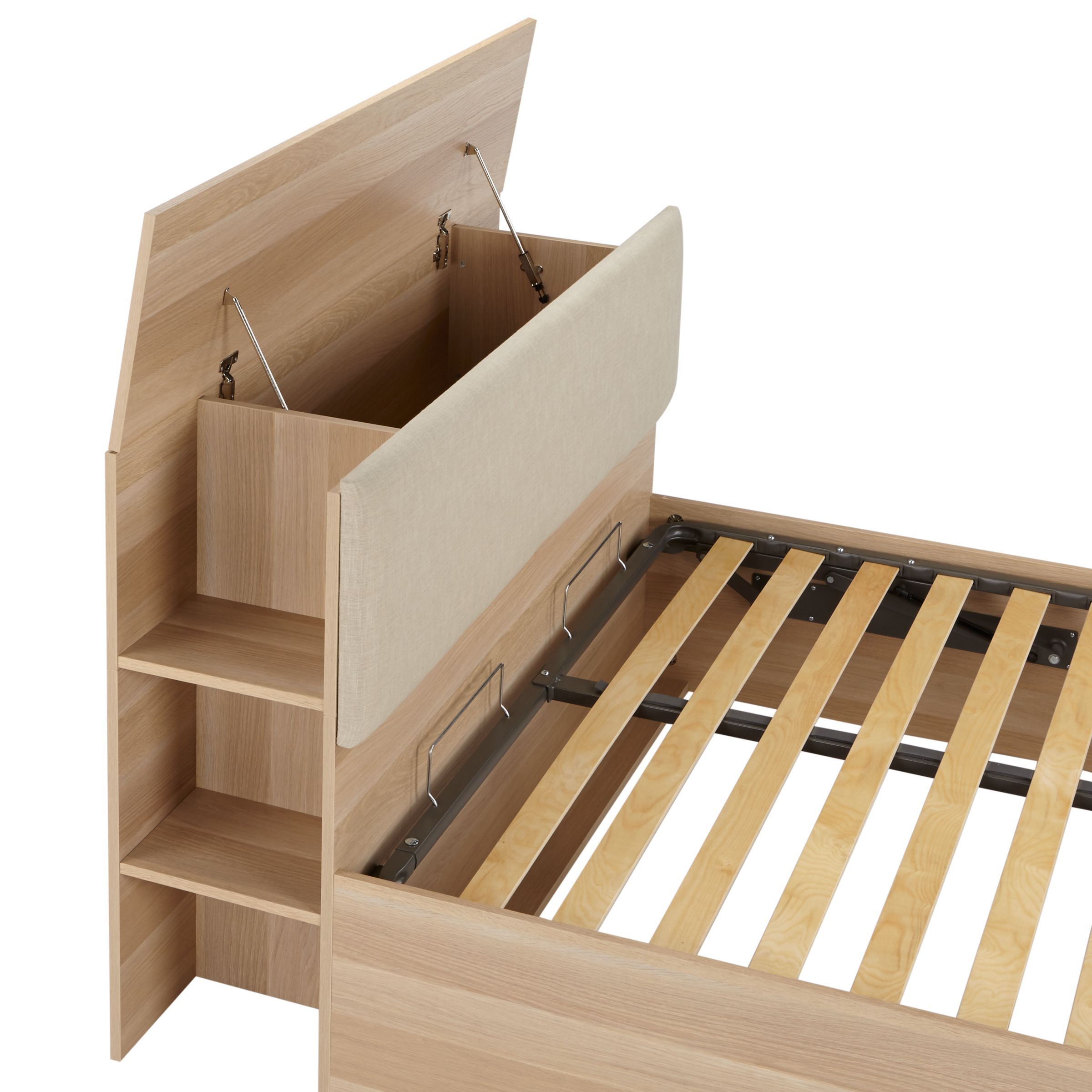 Picture of: House By John Lewis Super Storage Bed Frame Fsc Certified King Size At John Lewis Partners