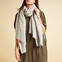 Buy Modern Rarity Jacquard Animal Pattern Scarf, Multi Online at johnlewis.com