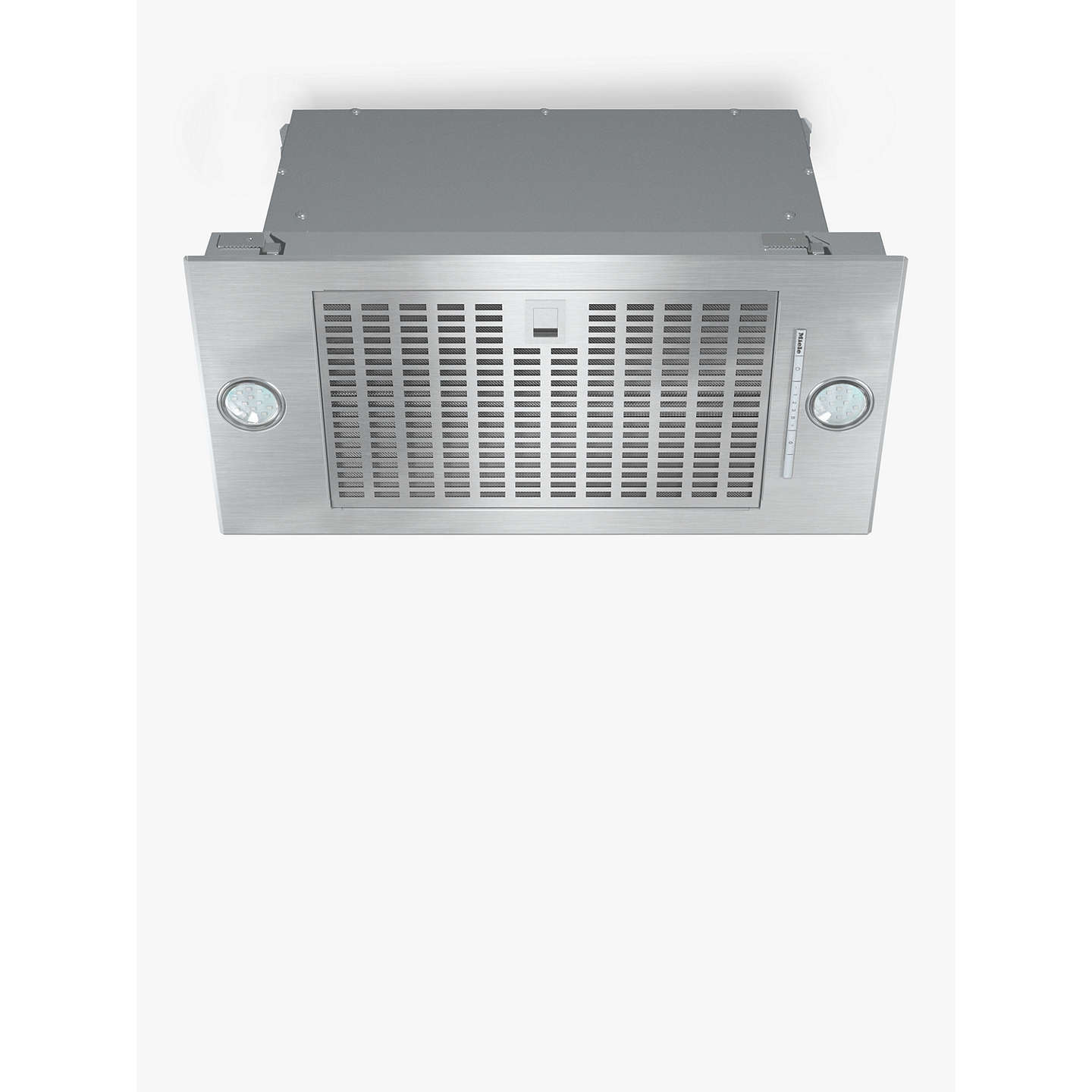 BuyMiele DA2360 Built-In Cooker Hood, Stainless Steel Online at johnlewis.com