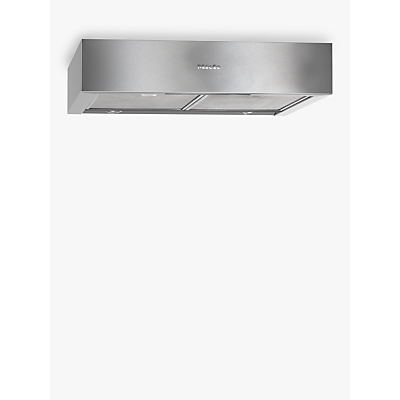 Miele DA1260 Built-Under Cooker Hood, Stainless Steel