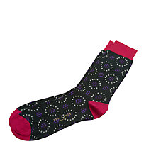 Buy Ted Baker Spot in Dot Socks, One Size Online at johnlewis.com