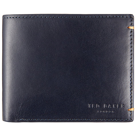 mens designer wallet brands ztyv  Buy Ted Baker Aunat Colour Block Leather Wallet, Navy Online at  johnlewiscom