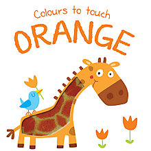 Buy Colours To Touch Orange Board Children's Book Online at johnlewis.com