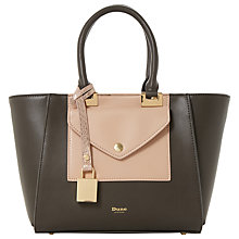 Buy Dune Deanne Front Pocket Tote Bag, Grey Online at johnlewis.com