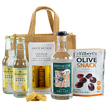 Buy John Lewis Ultimate Gin And Tonic Hamper Online at johnlewis.com