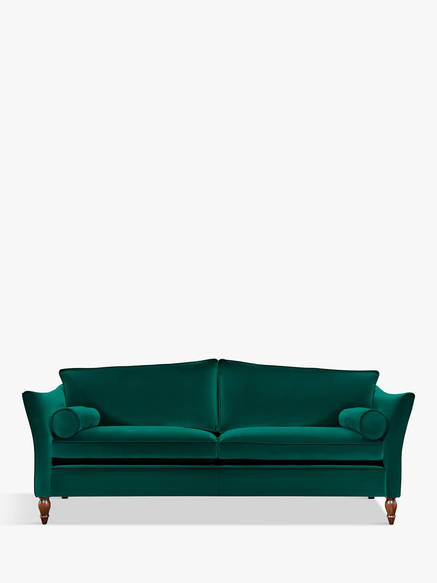 Buyduresta vaughan grand 4 seater sofa umber leg harrow velvet teal green online at