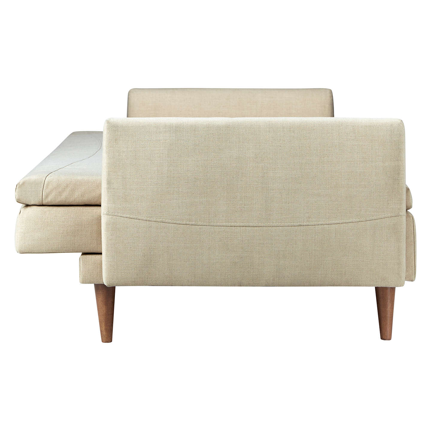 John Lewis Leyton Sofa Bed | Natural at John Lewis