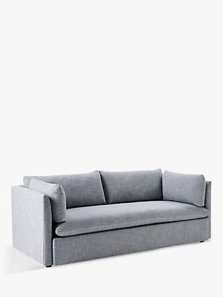 West Elm Shelter 3 Seater Sofa Linen Weave