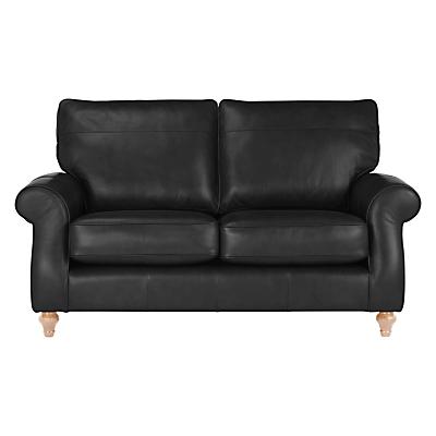 John Lewis Hannah Medium 2 Seater Leather Sofa, Light Leg