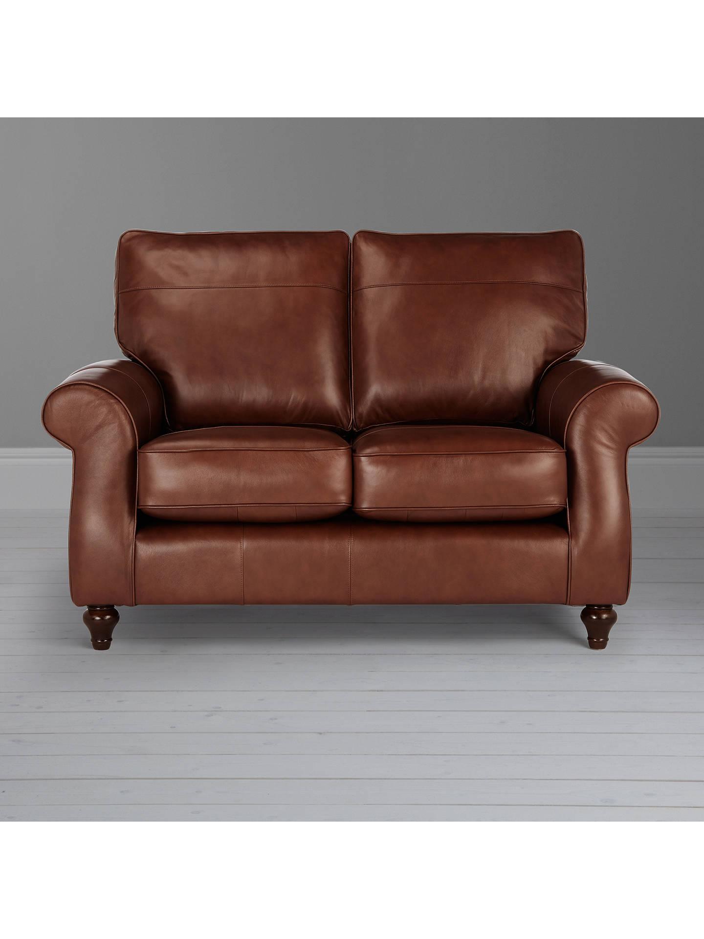 Strange John Lewis Hannah Small 2 Seater Leather Sofa Dark Leg At Download Free Architecture Designs Scobabritishbridgeorg