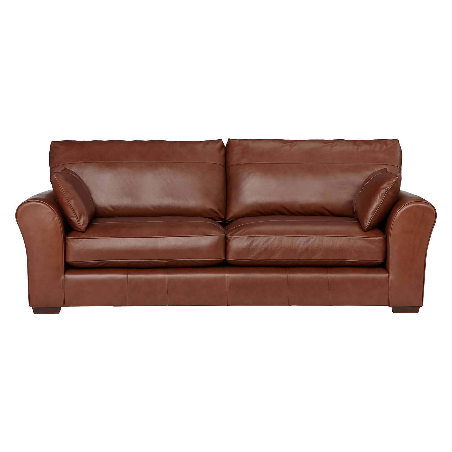 Four seater leather sofa sofa 4 seater leather with for Leather sofa 7 seater