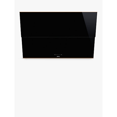 Buy Smeg KSVV90NRA Dolce Stil Novo Chimney Cooker Hood, Black/Copper Online at johnlewis.com