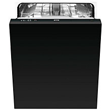 Buy Smeg DISD13 Integrated Dishwasher, Stainless Steel Online at johnlewis.com