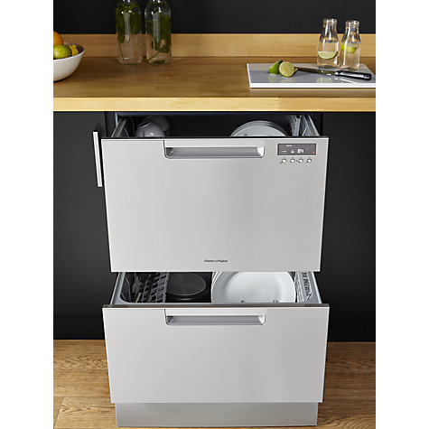... Buy Fisher U0026 Paykel Double DishDrawer Built In Dishwasher Online At  Johnlewis. ...