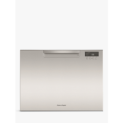 Fisher & Paykel DD60SCTHX9 Single DishDrawer Integrated Dishwasher, Stainless Steel