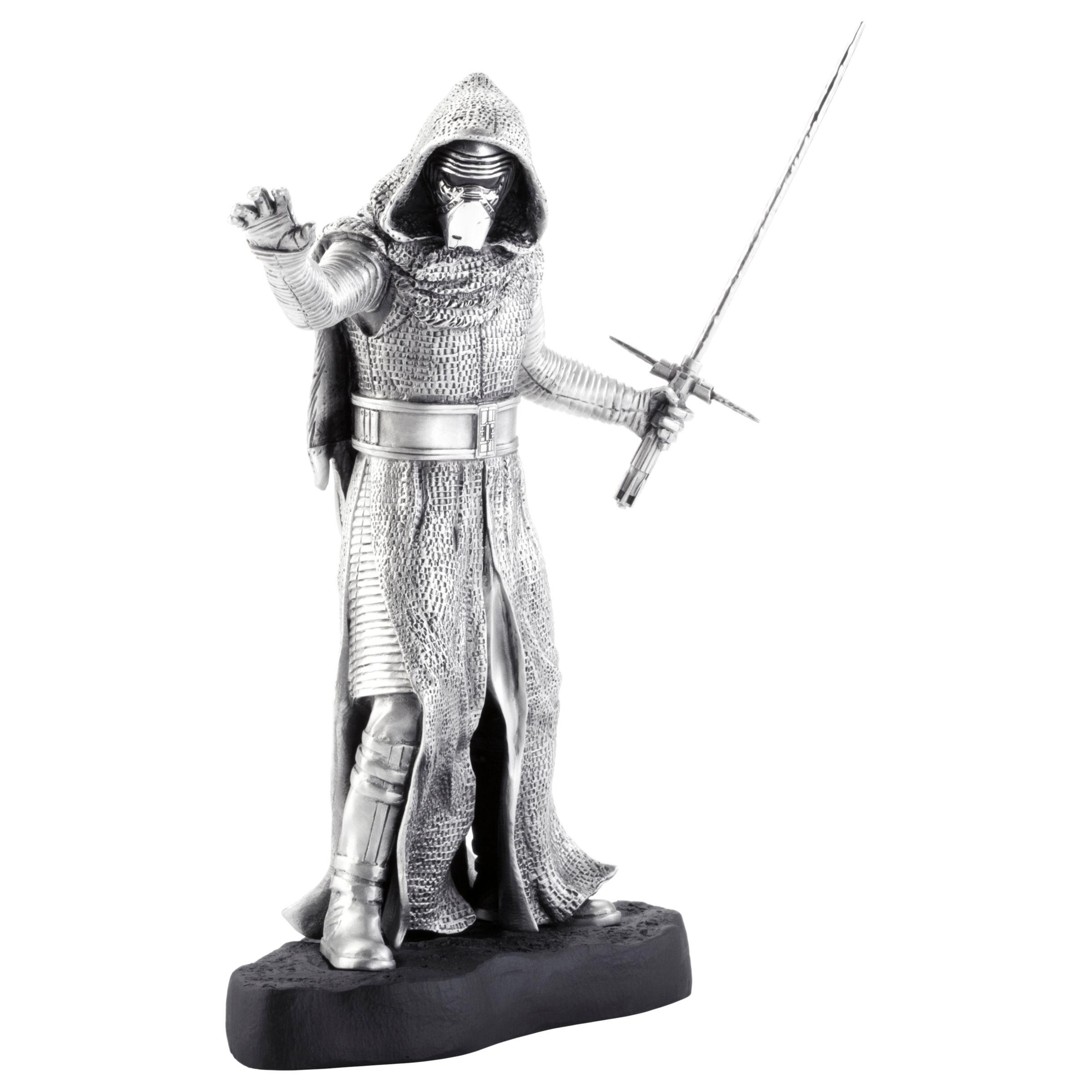 Royal Selangor Royal Selangor Star Wars Kylo Ren Figurine, Limited Edition