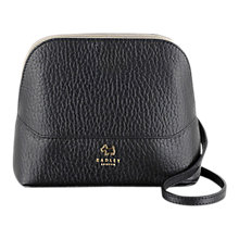 Buy Radley Kennington Leather Small Across Body Bag, Black Online at johnlewis.com
