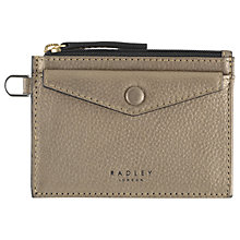 Buy Radley Star Gazer Leather Coin Purse, Gold Online at johnlewis.com