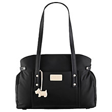 Buy Radley Romilly Street Large Fabric Tote Bag, Black Online at johnlewis.com