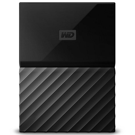 Buy WD My Passport Portable Hard Drive for Mac, 1TB, Black Online at johnlewis.com