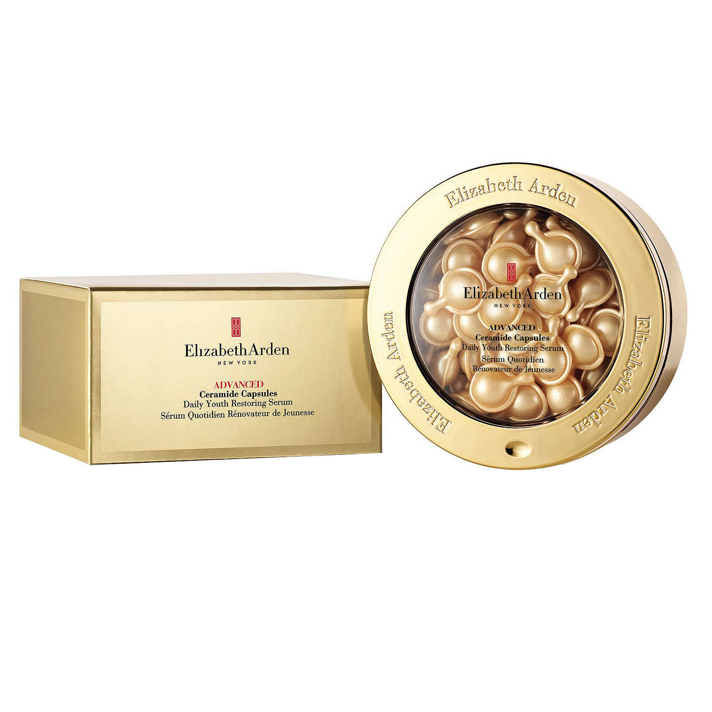 BuyElizabeth Arden Advanced Ceramide Capsules Daily Youth Restoring Serum (60) Online at johnlewis.com