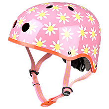 Buy Micro Scooter Daisy Safety Helmet, Pink/Multi, Medium Online at johnlewis.com