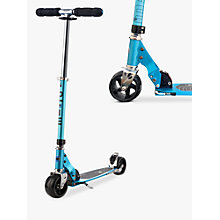 Buy Micro Rocket Scooter, Adult, Blue Online at johnlewis.com