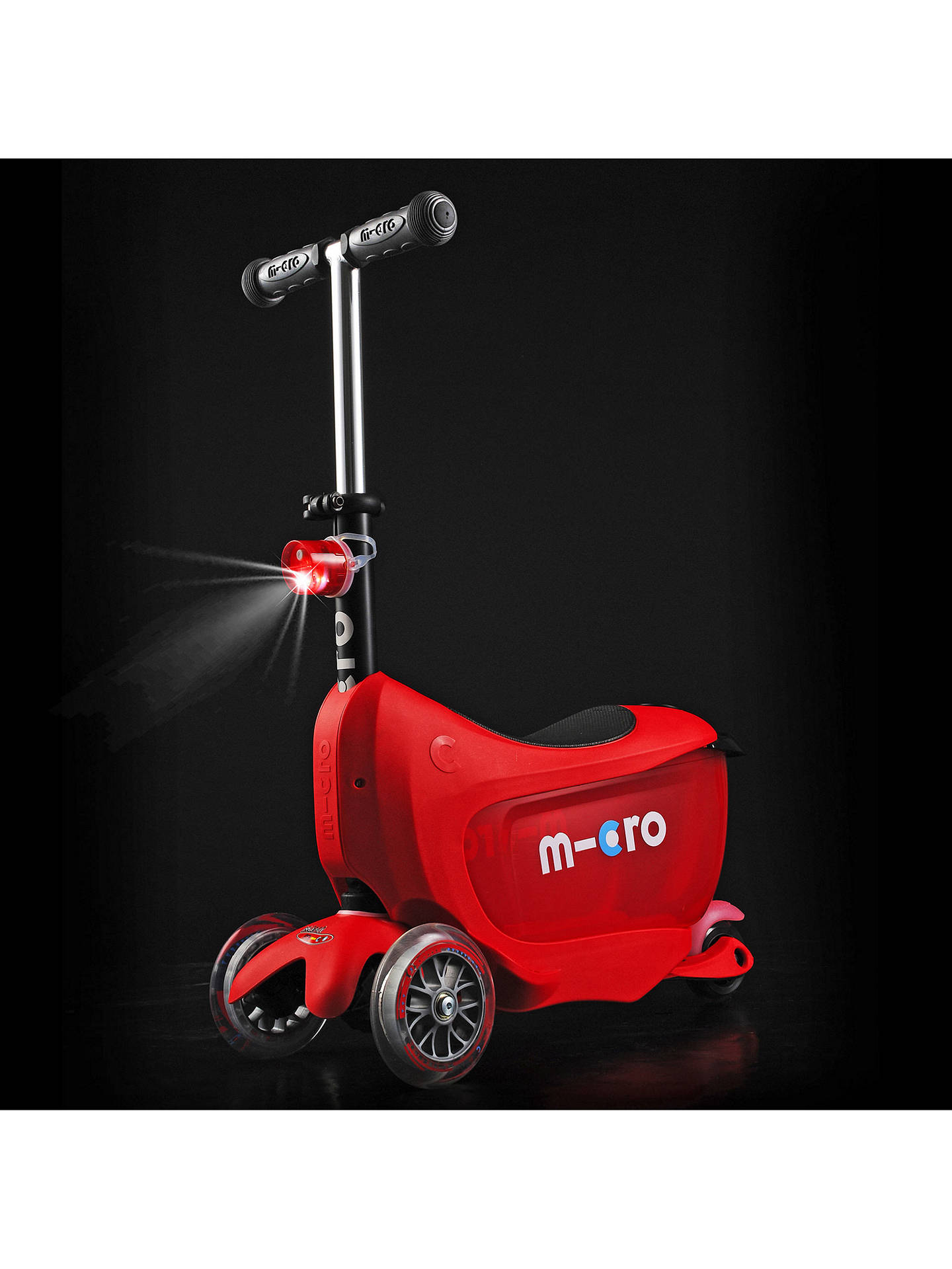 Micro Mini 2 Go Deluxe Scooter 3 5 years at John Lewis & Partners