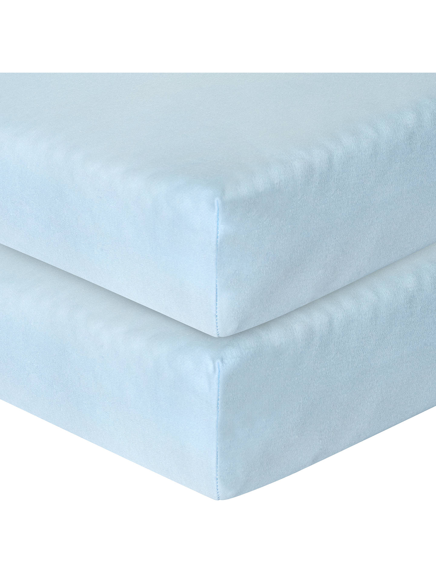 NEW Light Blue Knit Fitted Crib Sheet Toddler Bed Sheet  Please Choose Pattern