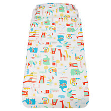Buy Gro Going To The Zoo Bed Set Online at johnlewis.com