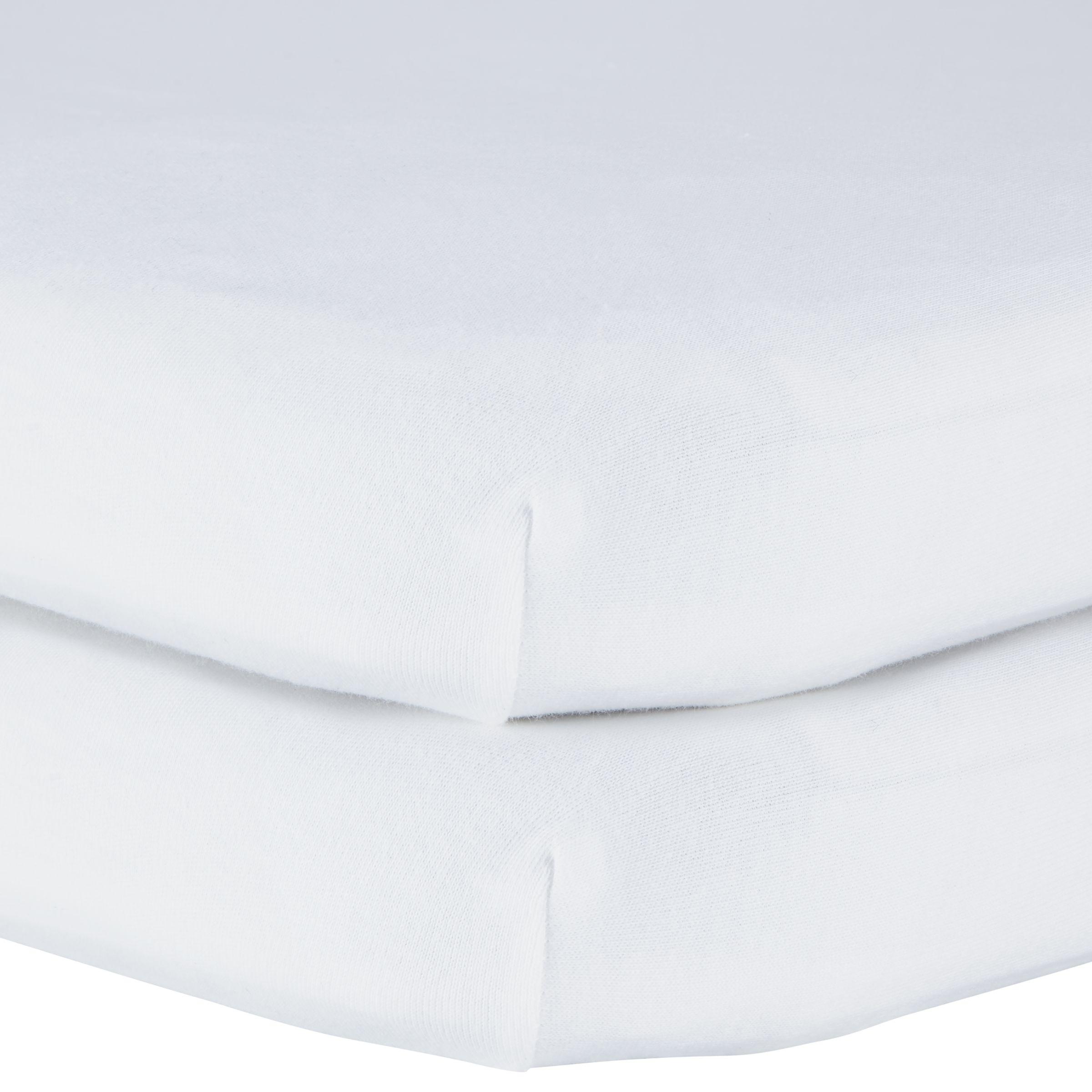 Crib Sheets sets 100/% ORGANIC  COTTON Organic Textiles 2 pack