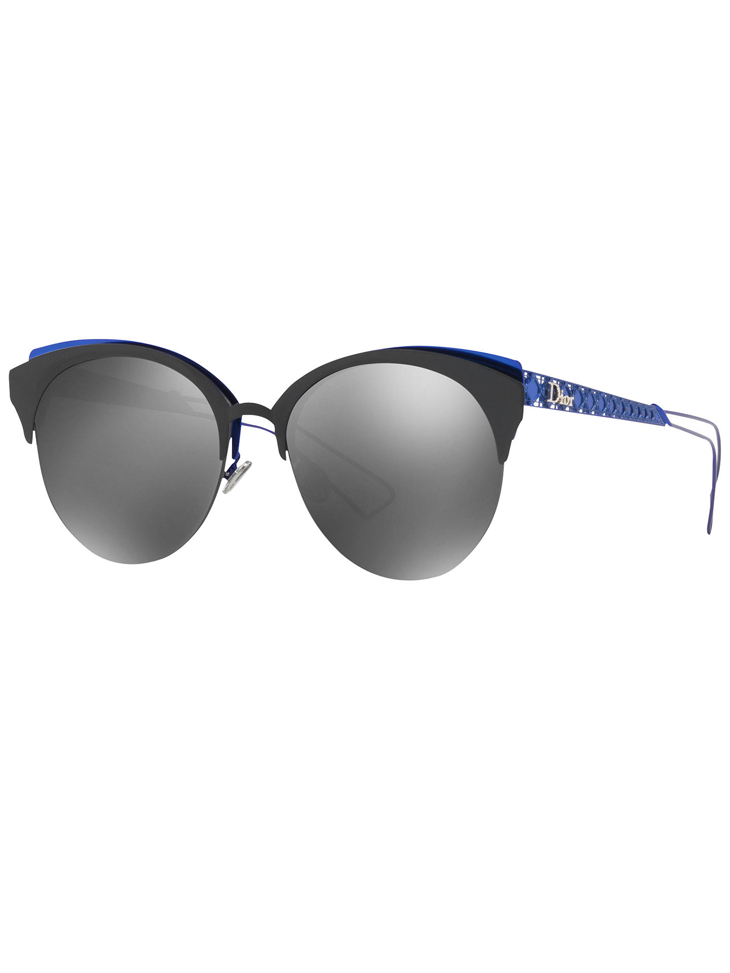 ab432a5b261 Dior Diorama Club Oval Sunglasses at John Lewis   Partners