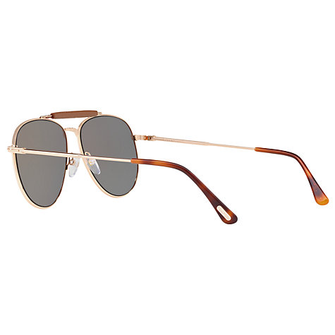aviator sunglasses mirror sb1e  Buy TOM FORD FT0536 Sean Aviator Sunglasses, Rose Gold/Mirror Grey  Online at johnlewis
