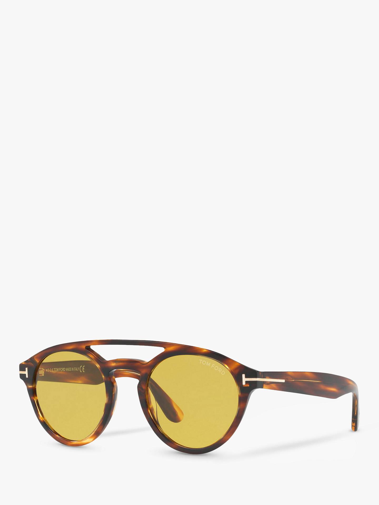 908d9f0e046d Buy TOM FORD FT0537 Clint Round Sunglasses