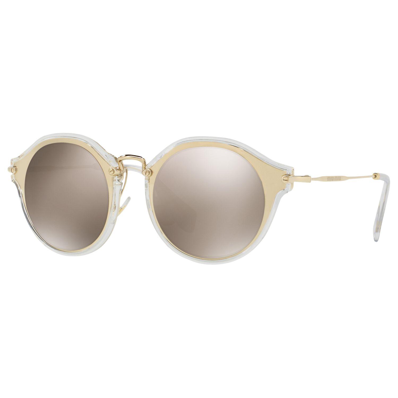 Miu Miu Miu Miu MU 51SS Round Sunglasses