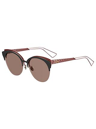 Dior Diorama Club Oval Sunglasses