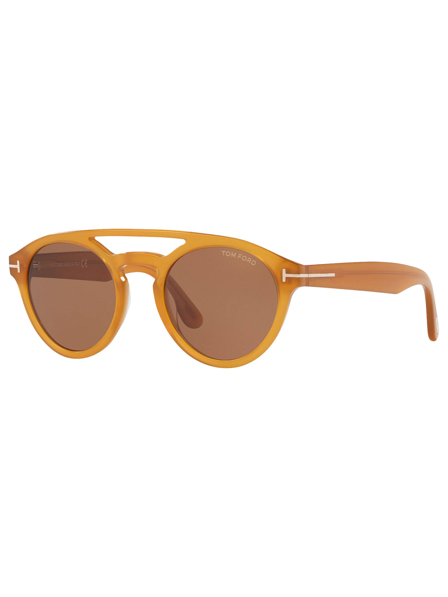 980370679993 Buy TOM FORD TF537 Clint Round Sunglasses