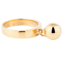 Buy Susan Caplan Athena Swing Ring, Gold Online at johnlewis.com