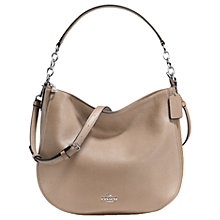 Buy Coach Chelsea 32 Polished Leather Hobo Bag Online at johnlewis.com