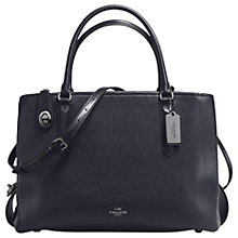 Buy Coach Brooklyn 34 Leather Carryall Tote Bag Online at johnlewis.com