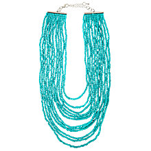 Buy John Lewis Iridescent Bead Layered Necklace Online at johnlewis.com