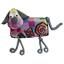 Buy One Button Resin Dangly Legs Doggy Brooch, Multi Online at johnlewis.com