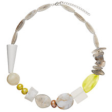 Buy John Lewis Mixed Bead Necklace, Multi Online at johnlewis.com