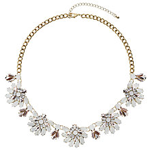 Buy John Lewis Fashion Statement Necklace, Floral Online at johnlewis.com