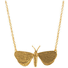 Buy Alex Monroe Looper Moth Pendant Necklace Online at johnlewis.com