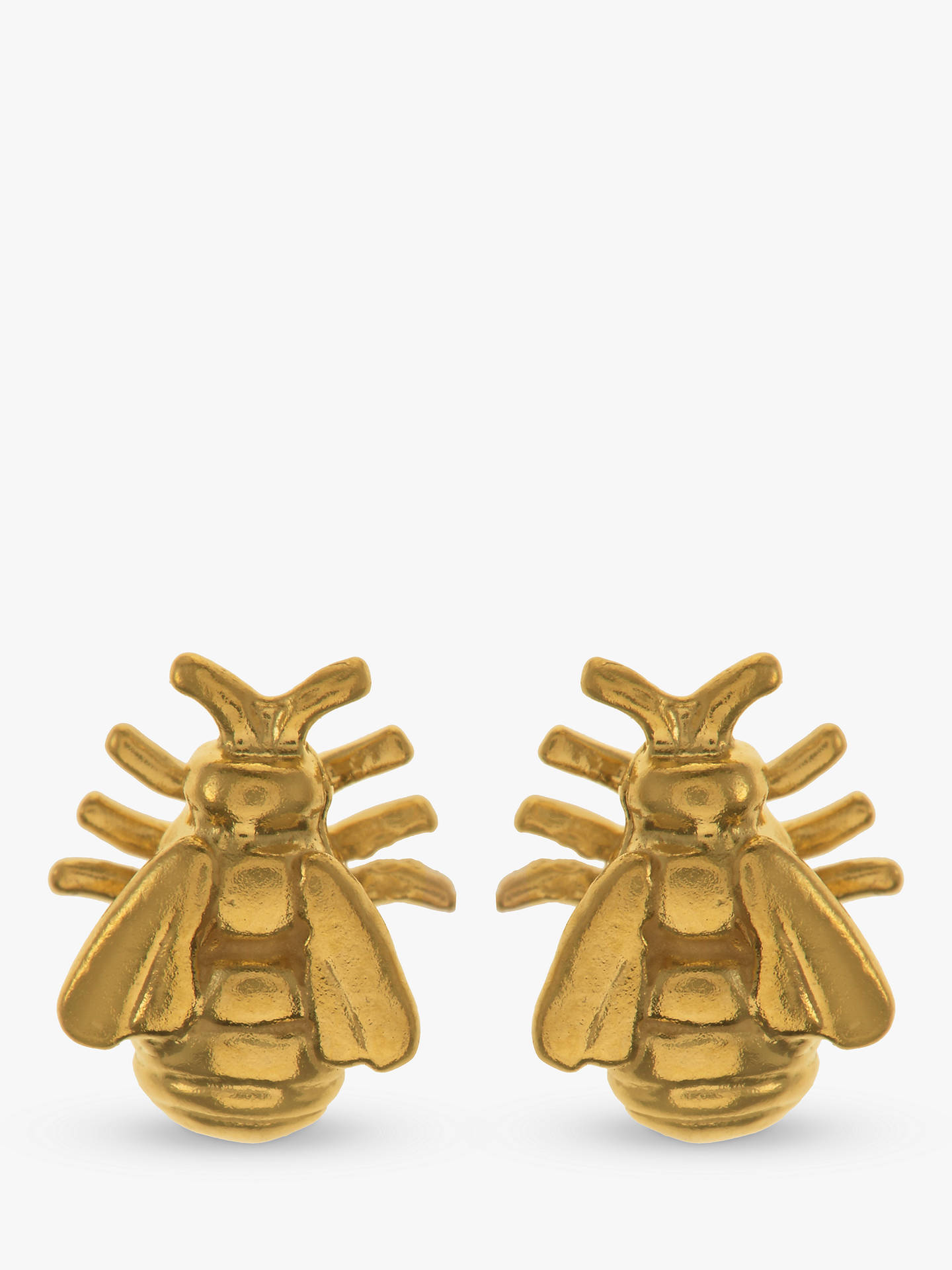 5d310962a Buy Alex Monroe Bee Stud Earrings, Gold Online at johnlewis.com ...