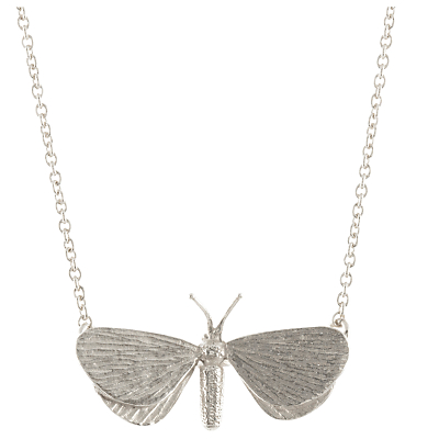 Alex Monroe Looper Moth Pendant Necklace