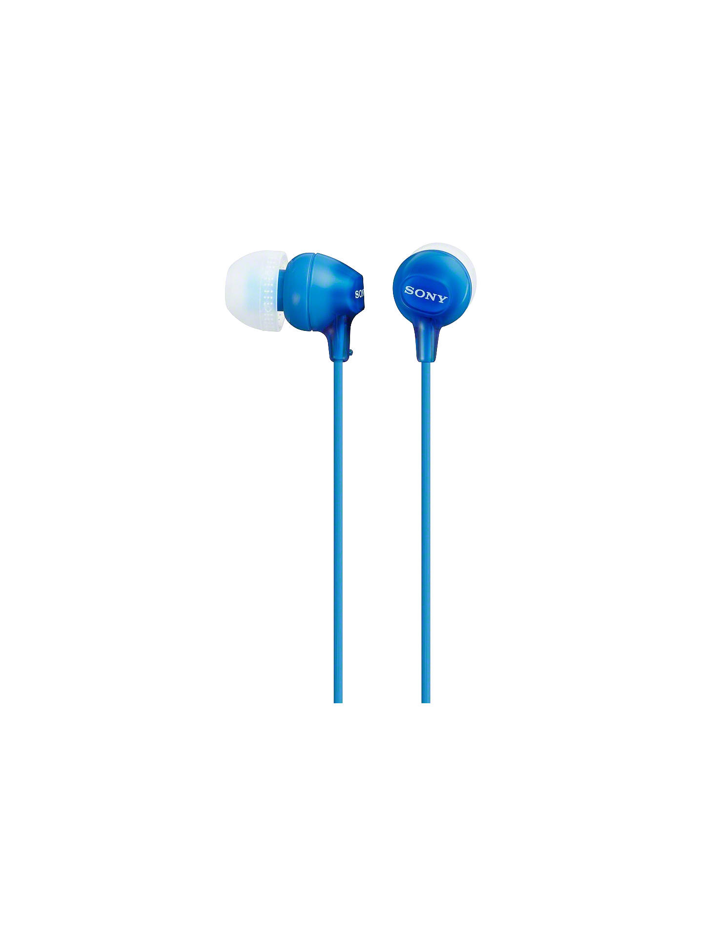 BuySony MDR-EX15AP In-Ear Headphones with Mic/Remote, Blue Online at johnlewis.com